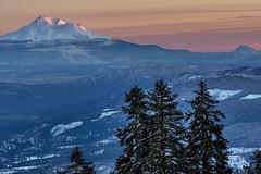 Christmas sunset (acase1968) Tags: mt ashland shasta sunset mount california oregon mountains snow winter trees nikon d500 nikkor 24120mm f4g