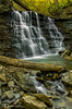 Hoffman Cascade. (Bernie Kasper) Tags: art berniekasper cliftyfallsstatepark creek d200 family hiking indiana landscape light madisonindiana madisonindianacliftyfallsstatepark nature nikon naturephotography new outdoors outdoor old outside photography park cascade spring statepark water waterfall waterfalls log