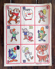 Vintage Kellogg's Hasbro Cereal Premium Production Concept Art (gregg_koenig) Tags: vintage kelloggs hasbro cereal premium production concept art 1976 70s milton toaster tony tiger tusk 1970s