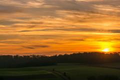 Ein Abend im Dezember (thunderbird-72) Tags: france gongelfang winter frankreich hiver abend coucherdusoleil sonnenuntergang lothringen lorraine launstroff fr