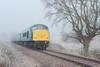 Brrrr!!! Diesel in the frost... (Jonathan Casey) Tags: 45133 class 45 diesel british rail blue wymondham abbey zeiss otus 55mm nikon d810 fog mist frost snow winter