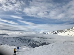 Skiing in Cervinia