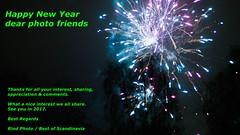 Happy 2017 (Rind Photo) Tags: happy new year lights firework greetings thanks rindphoto bestofscandinavia clauschristoffersen night friends