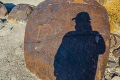 Petroglyphs at Grimes Point Archaeological Area (Lee Rentz) Tags: fallon greatbasincurvilinearstyle lakelahonton nationalregister nationalregisterofhistoricplaces nevada northernpaiute america basalt basinandrange blm bureauoflandmanagement culture desertvarnish drawing etched foragers greatbasin greatbasindesert huntergatherers indian indians meaning northamerica patina pecked petroglyph petroglyphs ritual rock rockart scratched selfie shadow shaman social stone unitedstates usa