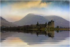 Reflections of Kilchurn Castle Loch Awe (Giovanni Giannandrea) Tags: kilchurncastle landscape scotland scottish lochawe winter glenorchy argyllbute 2017 reflections