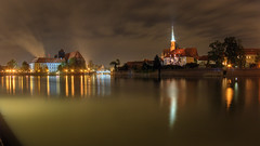 the city on oder (Sergey S Ponomarev) Tags: sergeyponomarev canon 70d eos city citta poland europe night 2016 hdr landscape paysage paesaggio wroclaw river lights reflections сергейпономарев город польша вроцлав поездка путешествие длиннаявыдержка зенит зенитар ночь европа longexposure le church building smoke embankment oder silesia одер река отражения
