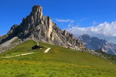 La Gusela del Giau (annalisabianchetti) Tags: mountains montagne dolomites dolomiti alps veneto paesaggio landscapes gusela giau