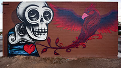 Phoenix in his heart (Dennis Valente) Tags: 5dsr lalocota art contemporaryurbanart streetart sw southwestern rooseveltrowartsdistrict mural valleyofthesun urbanart southwest wallart paint spraypaint isobracketing arizona hdr phoenix 2016 rooseveltrow karmaleigh