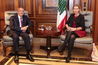 Federica Mogherini visits Lebanon