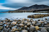 Trefor-3 (Andy Poole Images) Tags: trefor sea seascape sun cloud storm pebbles long exposure