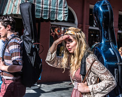 Walking into the sun (brucenmurray) Tags: neworleans nawlins nola streetphotography street frenchquarter stphotographia