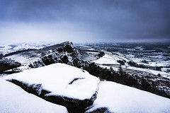 The Roaches in snow (Lukasz Lukomski) Tags: theroaches staffordshire peakdistrict nationalpark parknarodowy snow snieg rocks skały europe europa landscape krajobraz zima winter england anglia uk unitedkingdom wielkabrytania greatbritain lukaszlukomski nikond7200 sigma1020 leek white białe ice lód