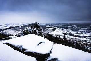 The Roaches in snow