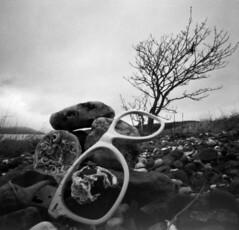 Inverkip (wheehamx) Tags: pinhole troon 6x6 black white