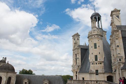 Toits du Château de Chambord