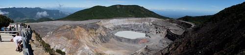 Poas Crater Panorama