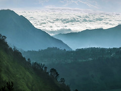 Mountain in the clouds (hastuwi) Tags: eastjava jawatimur bromo tengger semeru landscape mountain highland miring indonesia idn