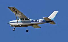 G-EKOS Cessna FR.182 (PlanecrazyUK) Tags: fly gekos in sturgate 070615 egcv cessnafr182