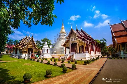 Wat Phra Singh - 泰國 清邁 帕邢寺 - Chiang Mai Thailand - Olympus BCL-0980 FISHEYE