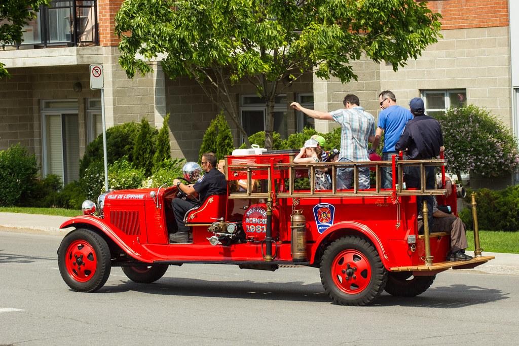 Camion de pompiers 1931 Firetruck
