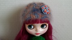 Angora Hat for Blythe