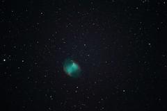 Dumbbell Nebula (M27, June 18, 2015) (rainambon) Tags: astrometrydotnet:status=solved astrometrydotnet:id=nova1142666