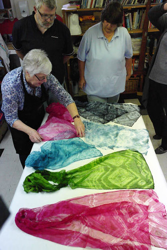 Acid Dyes on Wool & Silk with Sheila Smith