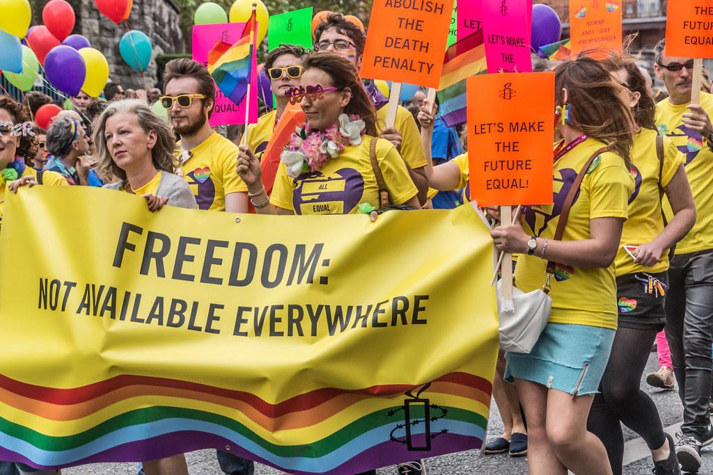 DUBLIN 2015 LGBTQ PRIDE PARADE [WERE YOU THERE] REF-105976