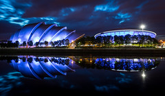 Glasgow - Armadillo & Hydro Reflection (grahamwilliamson1985) Tags: