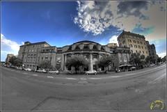 (bruto68) Tags: city sky rome color roma nikon colore blu cielo piazza palazzo hdr controluce citta blui palazzi hrd photomatix nikond200 samyang romarome nikon18200 bruto68 nikond300s samyang8mm