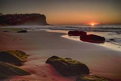 Bungan Beach (Big Bald Biker) Tags: beach sunrise sydney bungan