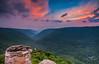 Sunset at Lindy Point (Avisek Choudhury) Tags: sunset landscape wv westvirginia gitzo dollysods blackwaterfallsstatepark lindypoint leefilters canon1635mmf28lii singhrayreversegnd canon5dmarkiii avisekchoudhury acratechballhead avisekchoudhuryphotography