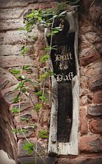 Dust to Dust (In Memory of ColGould) Tags: ruins cheshire chester coffin dusttodust stjohnthebaptist