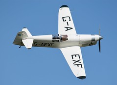 G-AEXF Percival Mew Gull (R.K.C. Photography) Tags: uk england aircraft bedfordshire shuttleworthcollection oldwarden percivalmewgull gaexf wingsandwheelsairshow canoneos1100d