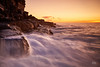 On the Edge (Mike Hankey.) Tags: seascape sunrise published whalebeach
