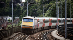 91122 Durham 08/08/2015 (Flash_3939) Tags: uk red station train durham rail railway august virgin virgintrains livery eastcoastmainline vtec 2015 ecml 82207 91122 bn01 1e17 virgintrainseastcoast northcountryrover