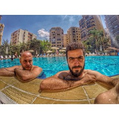 And then, we swam. #GoProOfTheDay #GoProHero #GoPro #Beard (Waelboy) Tags: square squareformat iphoneography instagramapp uploaded:by=instagram