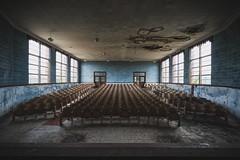 Dismissed (_soliveyourlife_) Tags: school abandoned abandonedplaces bando decay deborahlillis exploration explore forgottenplaces sony sonyimages soliveyourlife symmetry
