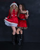 Christmas Shoots! (Scott L. Miller) Tags: christmas models sexy red blonde hat snow redhead brunet hood holiday stockings