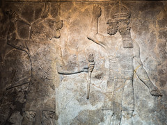 20161020-0209 (www.cjo.info) Tags: ancientassyria assyrian bloomsbury britishmuseum england europe europeanunion london m43 m43mount microfourthirds olympus olympusomdem10 panasonic panasonicleicadgsummilux25mmf14asph unitedkingdom westerneurope animal art beard carving digital facialhair fauna man manwithlionhead mythicalcreatures people relief stone stonework
