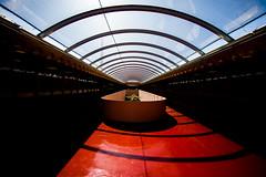 It Was Easier to Lock the Doors (Thomas Hawk) Tags: america california franklloydwright marin marinciviccenter marincounty sanrafael usa unitedstates unitedstatesofamerica architecture fav10 fav25