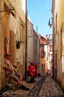 PORTUGAL - Lisboa - Beco do Forno do Castelo
