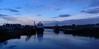 Blue Hour, Aberdeen Harbour, Aberdeen, Jan 2017 (allanmaciver) Tags: aberdeen blue hour river dee quiet still shades vessels clouds friday shadows victoria bridge torry allanmaciver
