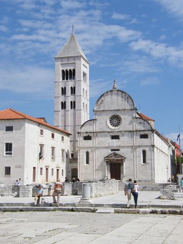 Zára, Szent Mária-templom és Bencés apácakolostor