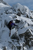 Stefan climbing (Pianocchio) Tags: retezat rumänien karpaten carpathian mountain romania national park gentiana bucura peleaga snow winter mountainering mountaineering