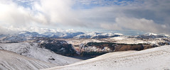 Central Fells (Ice Globe) Tags: central fells fell lake district cumbria helvellyn raise derwent snow snowy winter wintry white ice icy cold frozen mountain mountains peak peaks landscape landscapes panorama panoramic nikon d5100 35mm sticks pass