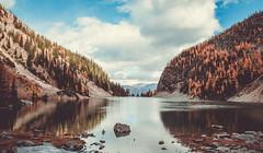 Breathe (bingo blue) Tags: canada canon lake alberta banff agnes landscape