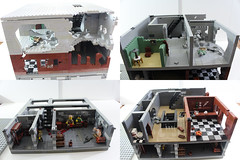 Stalingrad MOC (WIP) #2 (MJR415) Tags: moc stalingrad world war worldwartwo lego rubble building ruins ruin wounded room rooms wwii soviets
