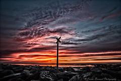 projet 365 photo 22/365 (karinebernard) Tags: nouvelleaquitaine france paysage charentemaritime chatelaillonplage hiver nuage coucherdesoleil plage