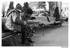 Modern Times (Bogdan_b) Tags: romania brasov street photography sony 50mm a200 bw